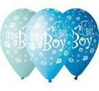 Gemar 12 cali 1 szt It's a Boy BŁĘKITNY balon