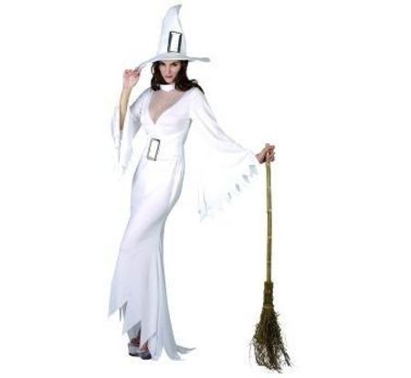 Biała Wiedźma strój dla dorosłych SM | Przebrania