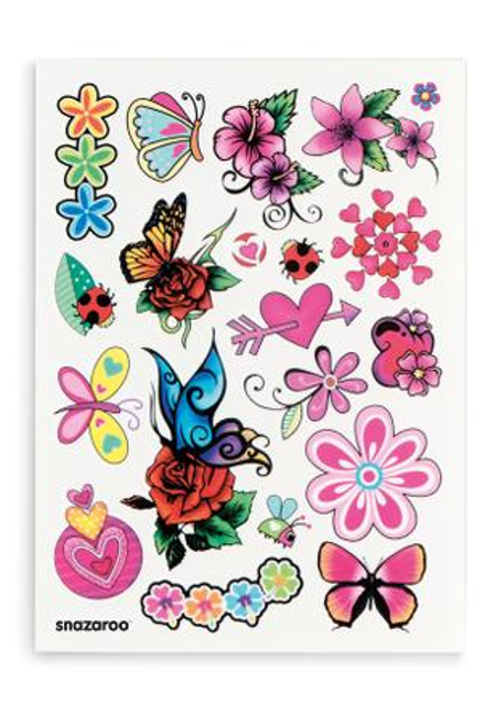 Zestaw Do Tatuażu Snazaroo Motyl Malowanie Twarzy Tatuaż