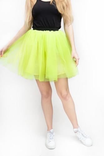 Spódnica tutu Żółta różne rozmiary | Przebrania  Dodatki do