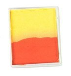 Rainbow Cake 50 g orange/ soft yellow PartyXplosion
