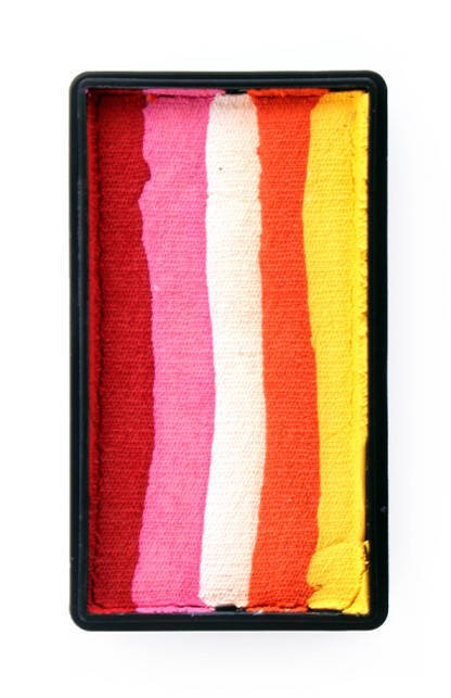 Split Cake 28g RED/ PINK/ WHITE/ ORANGE/ YELLOW PartyXplosion