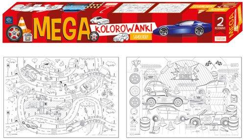 Kolorowanka Mega Samochody Kreatywne Artykuly Papiernicze