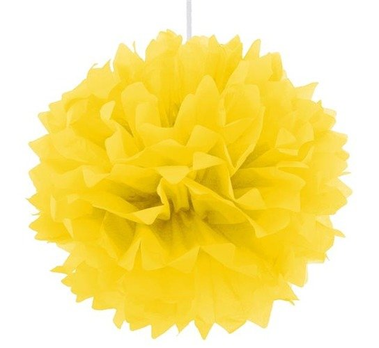 Pompon Dekoracyjny Różne Kolory 40 Cm żółty Balony I