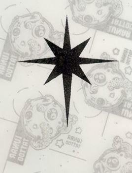 Quick Tattoo Szablon Do Tatuażu Gwiazdka Malowanie Twarzy
