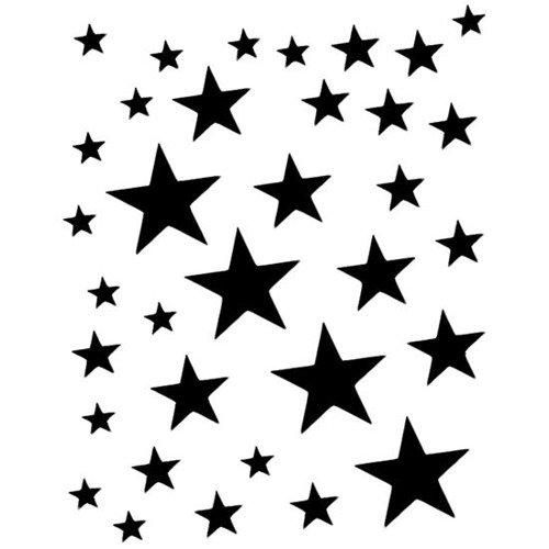 Szablon Do Tatuażu Oczu Eulenspiegel Stardance Gwiazdki