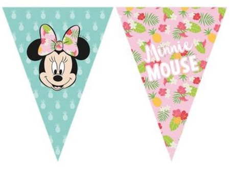 Banner flagi Minnie Tropical